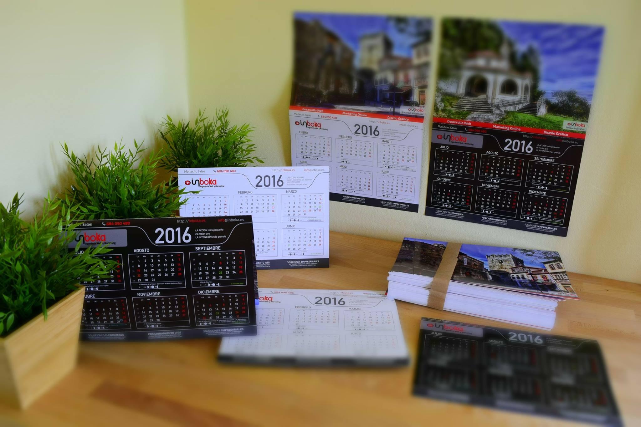 Calendarios corporativos 2016
